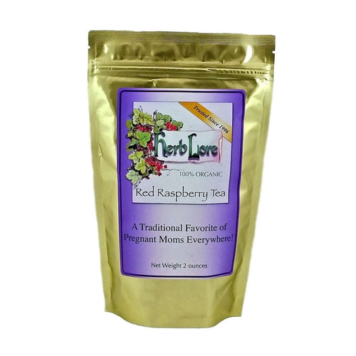 Herb Lore Organic Red Raspberry Leaf Tea