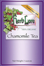 Load image into Gallery viewer, Herb Lore Organic Chamomile Tea