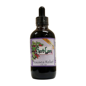Organic Nausea Relief Tincture - Herb Lore