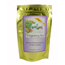 Load image into Gallery viewer, Herb Lore Organic Loose Leaf Pregnancy Tea