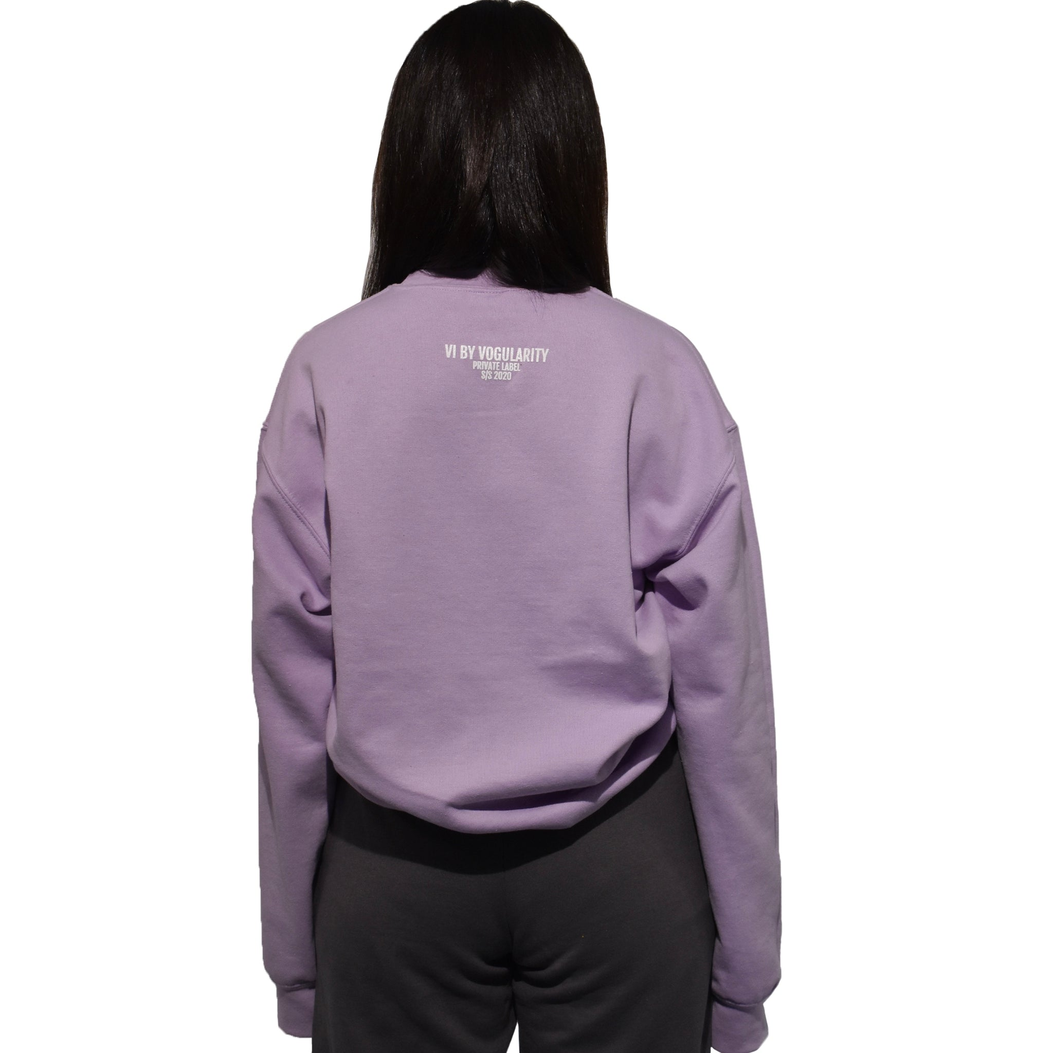 Basic Lilac Sweatshirt