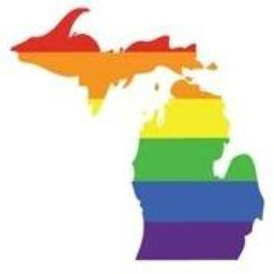Rainbow Michigan Greeting