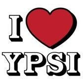 I Heart Ypsi Greeting Card