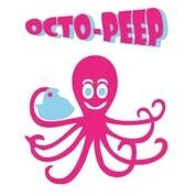 Octo-Peep Easter Greeting Card