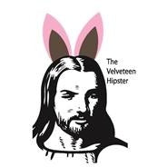 Velveteen Hipster Easter Greeting