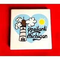 Ypsilanti Michigan Coaster