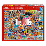 The 1990's 1000 Piece Jigsaw Puzzle