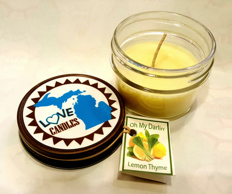 Oh My Darlin' Lemon Thyme Candle