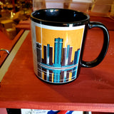 Detroit Woodblock Mug