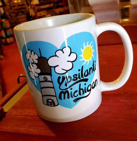 Ypsilanti Cartoon Mug