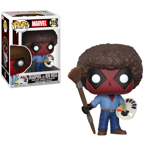 Deadpool Bob Ross POP Figure