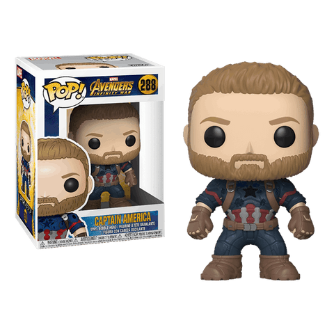 Infinity War Captain America Funko POP Figure