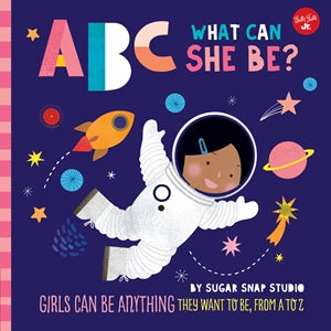 ABC She Can Be Book