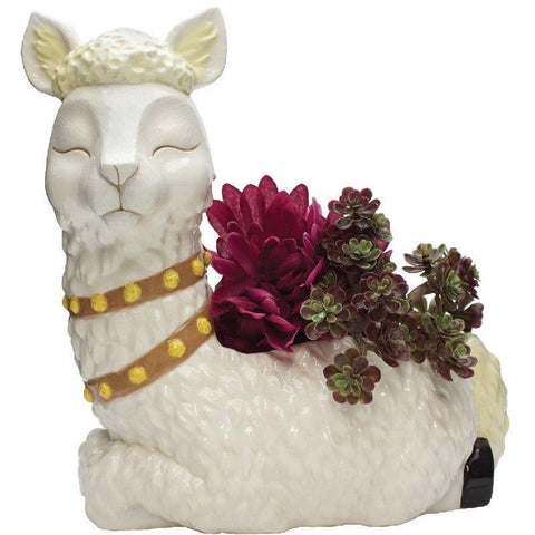 Alpaca Planter Pot