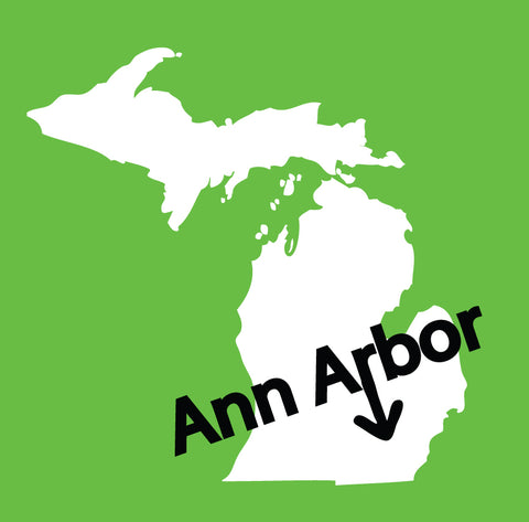 Ann Arbor Sticker