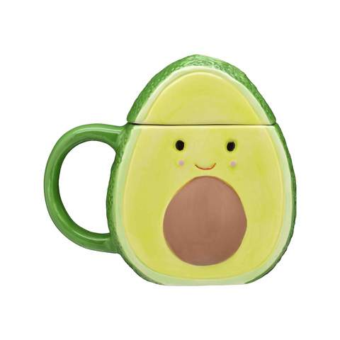 Avocado Sculpted Mug