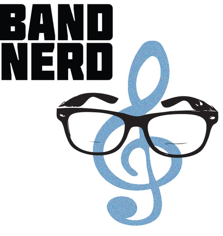 Band Nerd Sticker