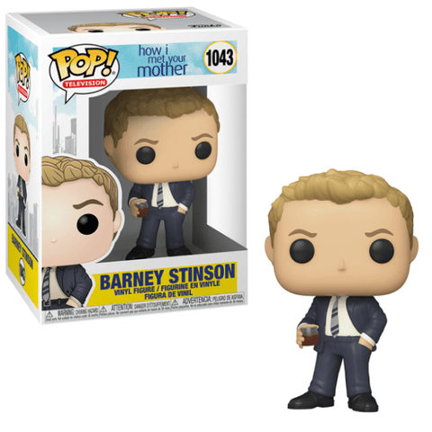 Barney Stinson Suit POP Figure How I Meet Your Mother