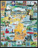Best Of Michigan 1000 Piece Jigsaw Puzzle