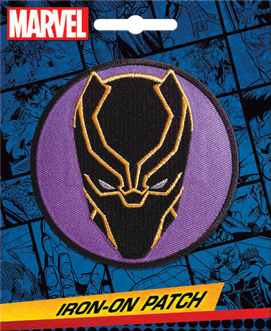 Black Panther Iron-On Patch