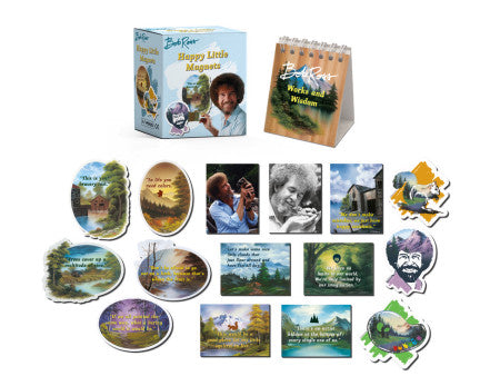 Bob Ross Magnet Kit