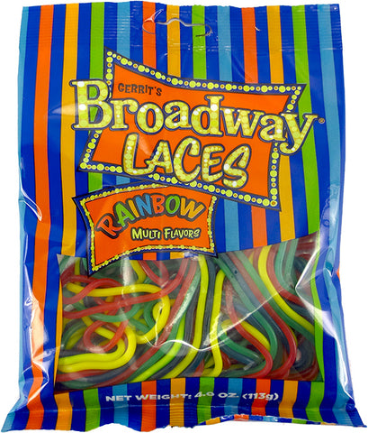 Broadway Rainbow Laces