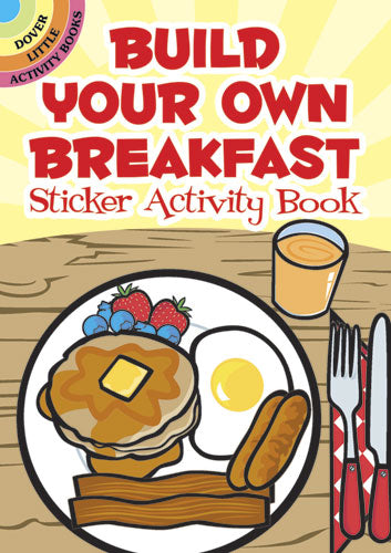 Build Your Own Breakfast Sticker Book