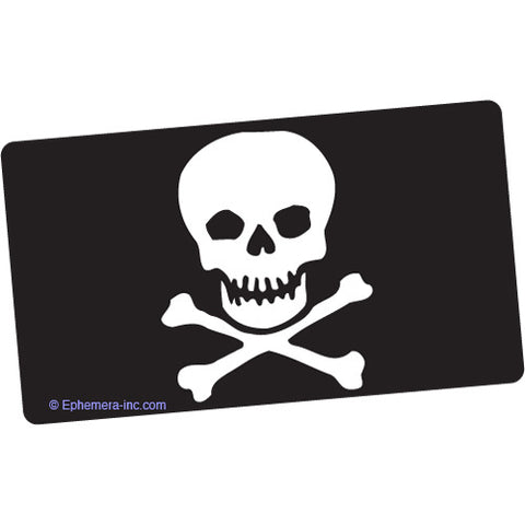 Skull And Crossbones Bumper Sticker