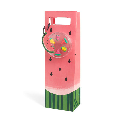 Watermelon Wine Bag & Markers