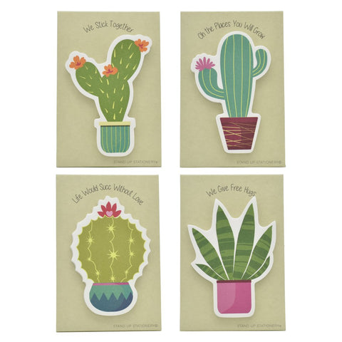 Cactus Pop-Up Sticky Notes