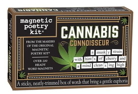 Cannabis Magnetic Poetry
