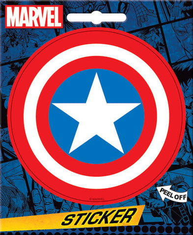 Captain America Sticker Shield