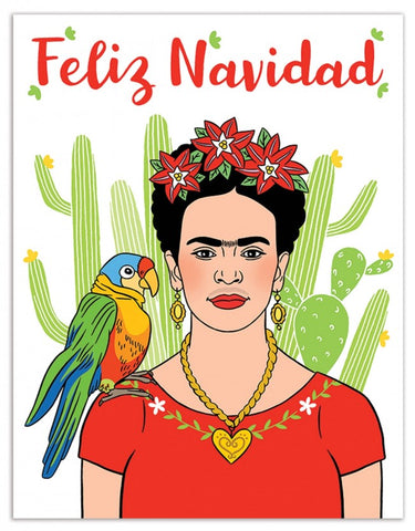 Card Feliz Frida Kahlo