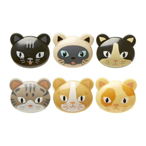 Cat Bag Clips Assorted