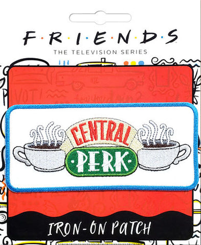 Central Perk Iron-On Patch