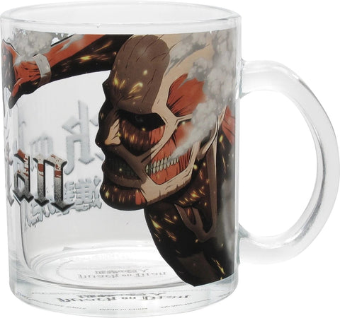 Colossal Titan Glass Mug