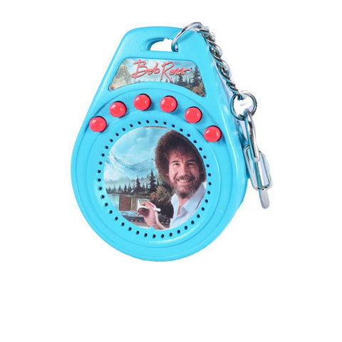 Coolest Bob Ross Keychain