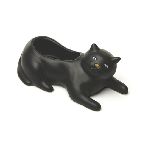 Cosmo Black Cat Planter