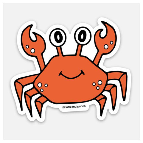 Cute Crab Sticker
