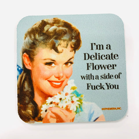 Delicate Flower Coaster