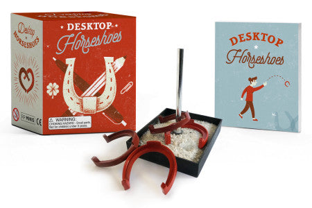 Desktop Horseshoes Kit