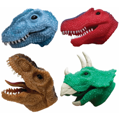 Dino Snappers Finger Puppet (Choose One)
