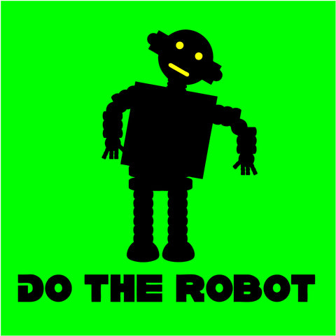 Do The Robot Sticker