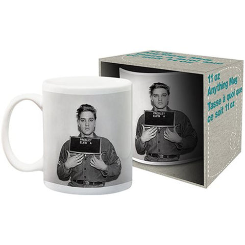 Elvis Presley Enlistment Mug