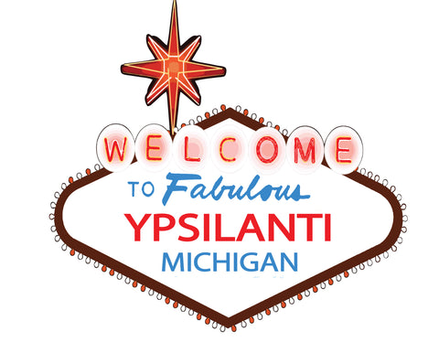 Fabulous Ypsilanti Sticker
