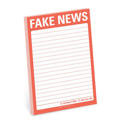 Fake News Big Sticky Notes