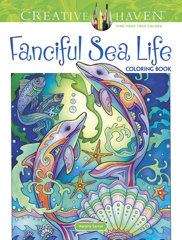 Fanciful Sea Life Coloring Book