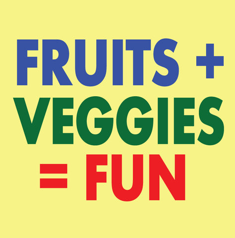 Fruits Plus Veggies Sticker