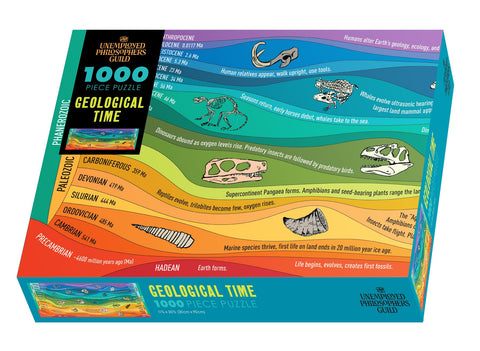 Geological Time Puzzle