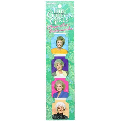 Golden Girls Bookmark Magnets